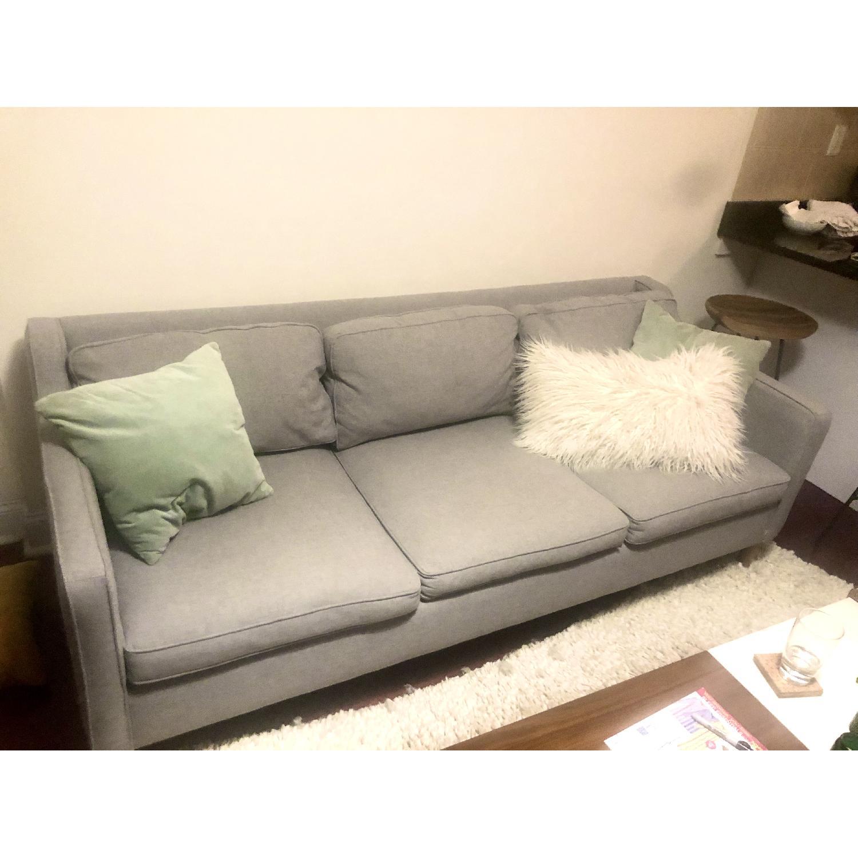 West Elm Hamilton Upholstered Sofa - image-2
