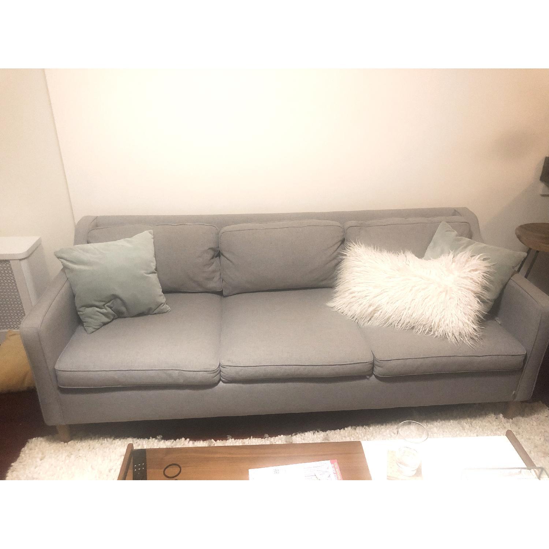 West Elm Hamilton Upholstered Sofa - image-3