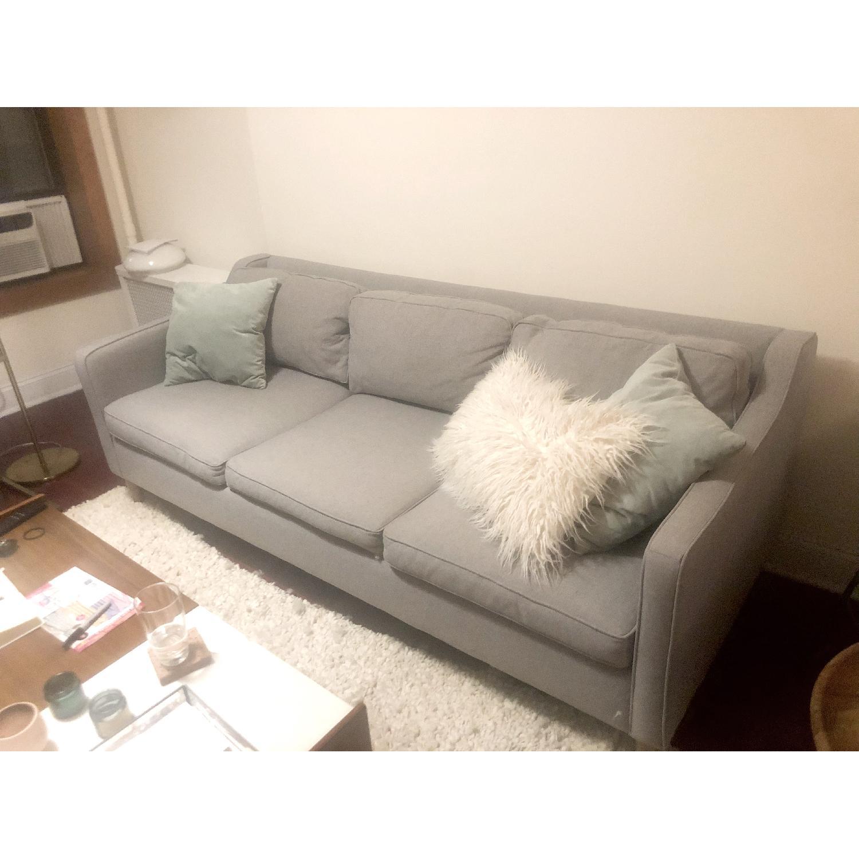 West Elm Hamilton Upholstered Sofa - image-4