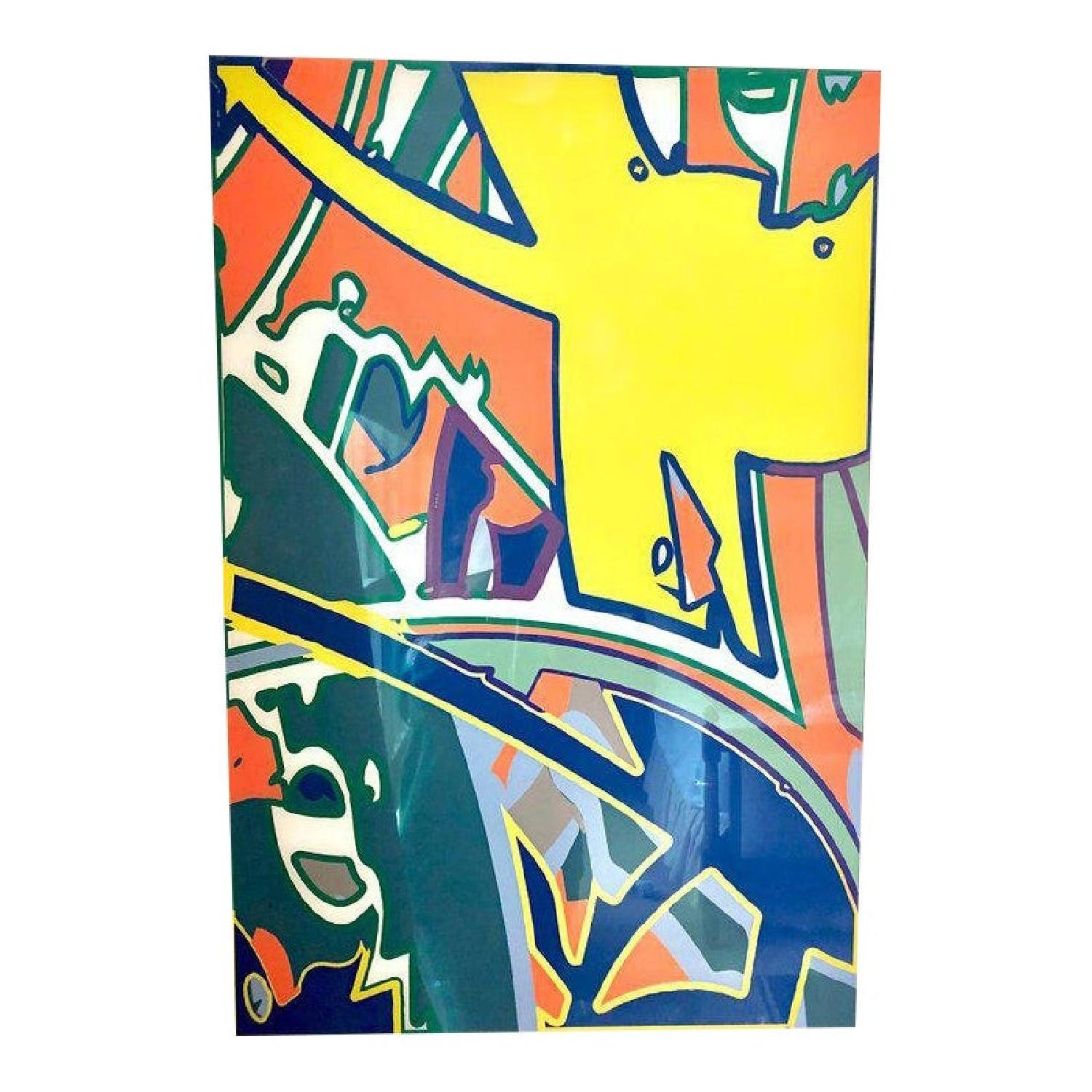 Keith Harring Style Graphic Art - image-1