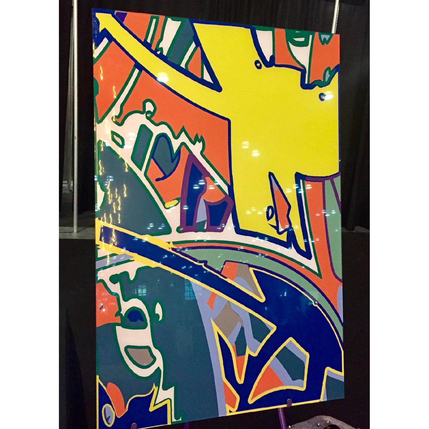 Keith Harring Style Graphic Art - image-0