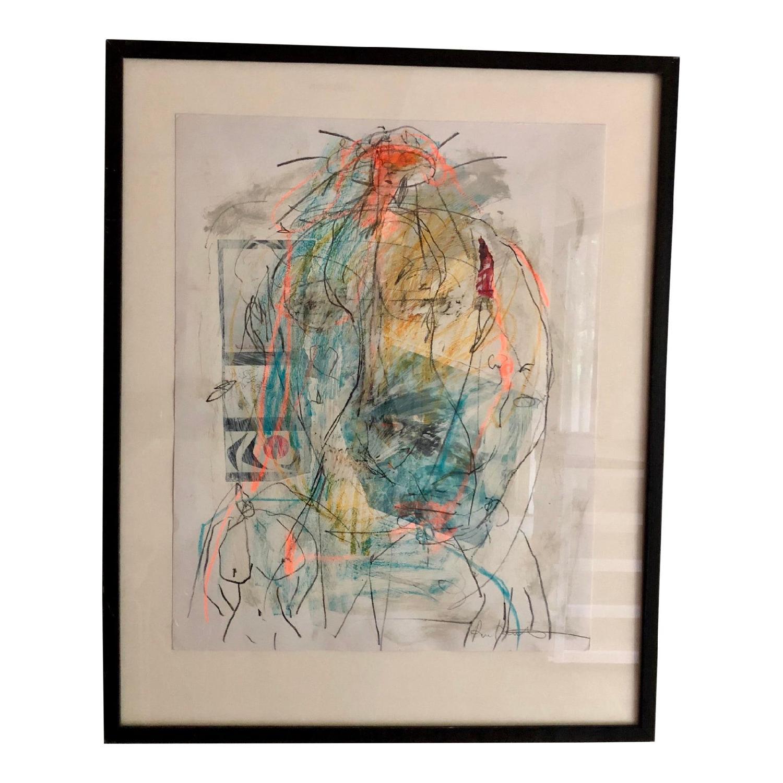 Ellen Reinkraut Womens Strength Figurative Mixed Art - image-6