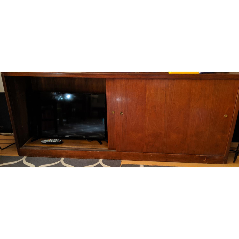 Vintage Apothecary Media Shelf - image-4
