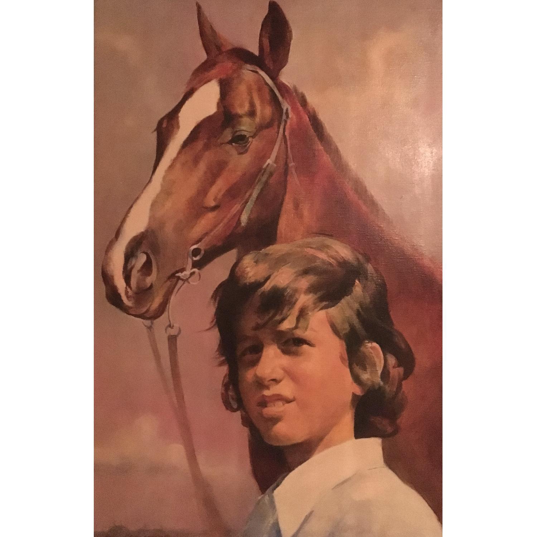 Marc Klionsky Smithsonian National Portrait Gallery Horses - image-0