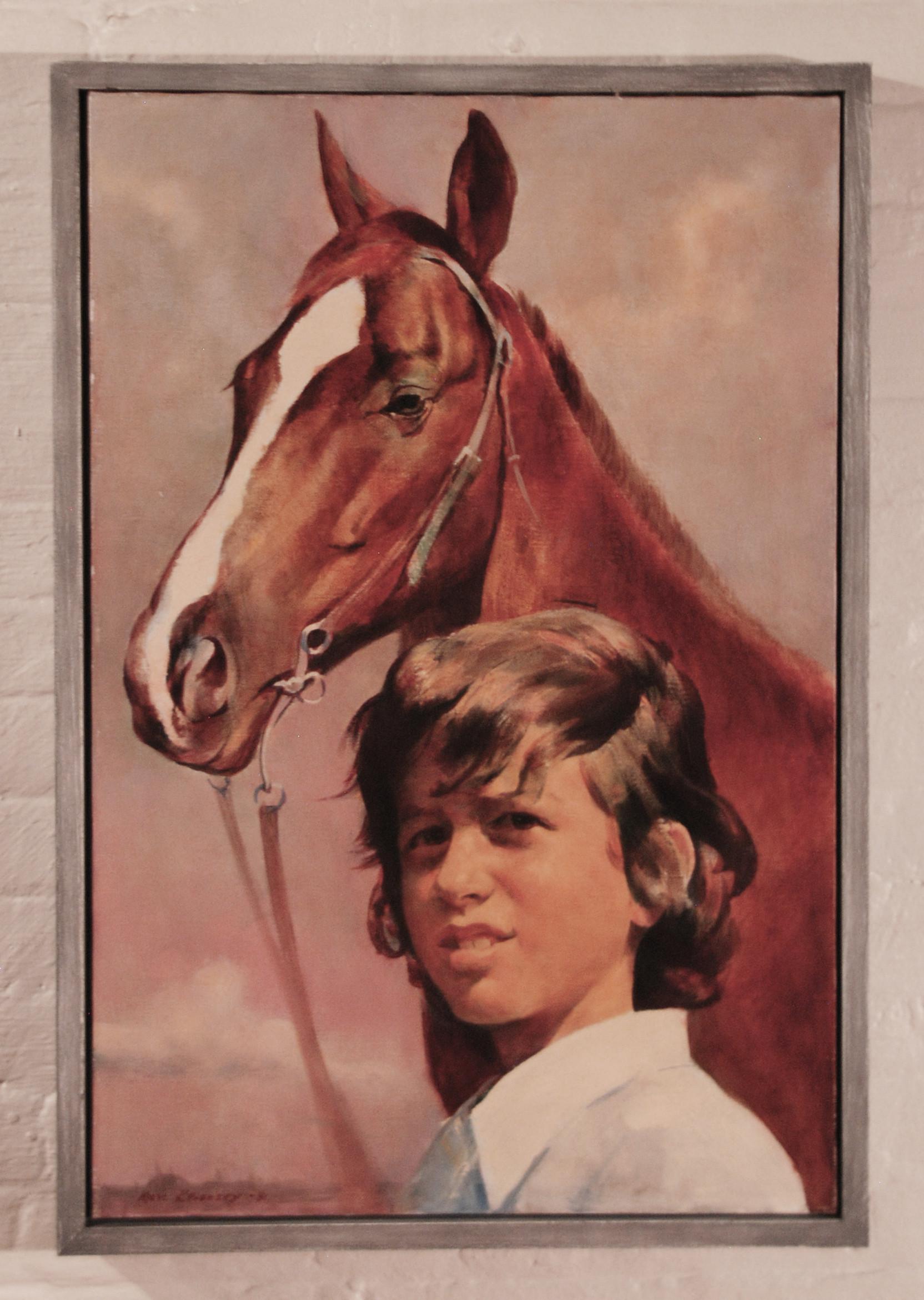Marc Klionsky Smithsonian National Portrait Gallery Horses