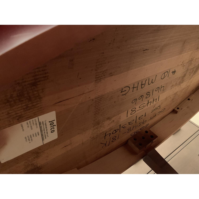 Jofco Dark Brown Wood Coffee Table w/ Shelf - image-4