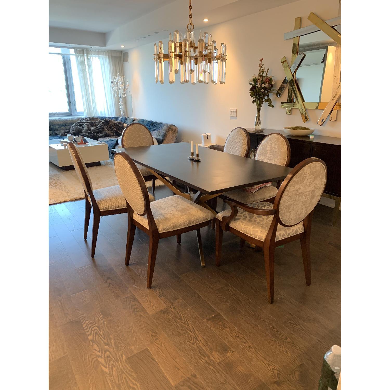 Bernhardt Design East Hampton Oval Back Dining Chairs - image-1