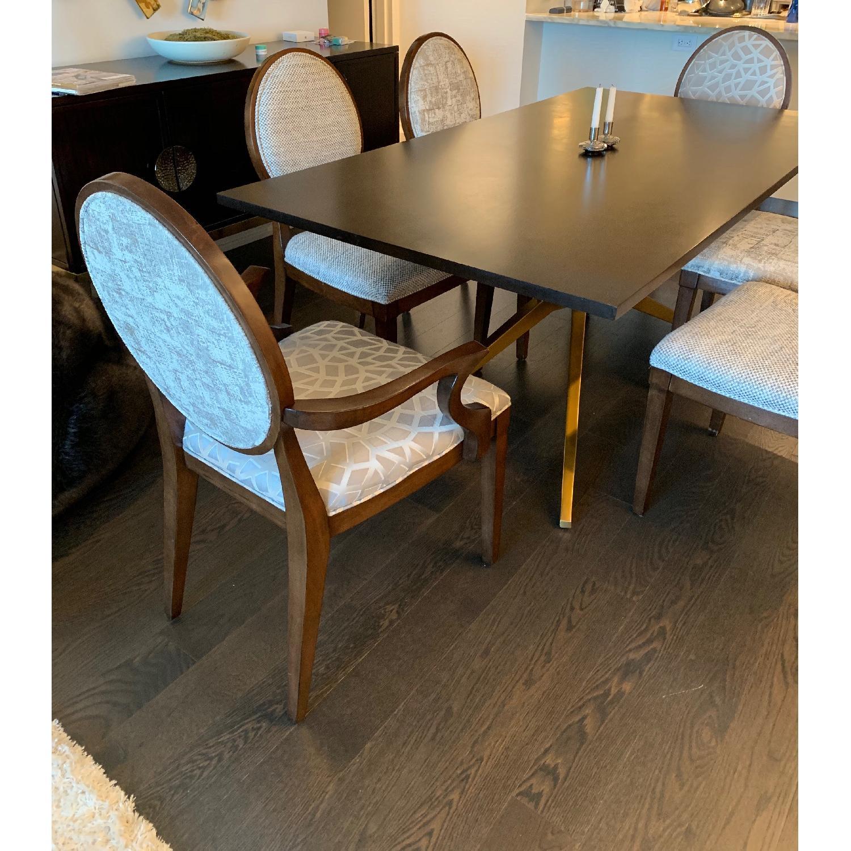 Bernhardt Design East Hampton Oval Back Dining Chairs - image-2
