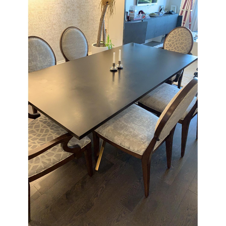 Bernhardt Design East Hampton Oval Back Dining Chairs - image-3