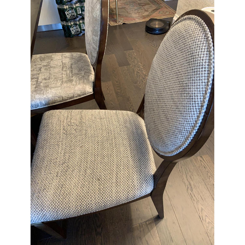Bernhardt Design East Hampton Oval Back Dining Chairs - image-5