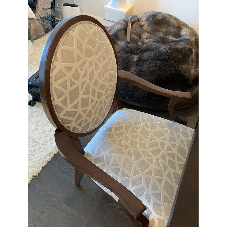 Bernhardt Design East Hampton Oval Back Dining Chairs - image-4