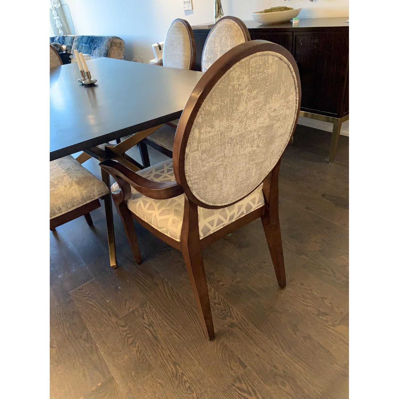 Bernhardt Design East Hampton Oval Back Dining Chairs - image-6