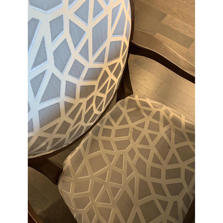 Bernhardt Design East Hampton Oval Back Dining Chairs - image-8
