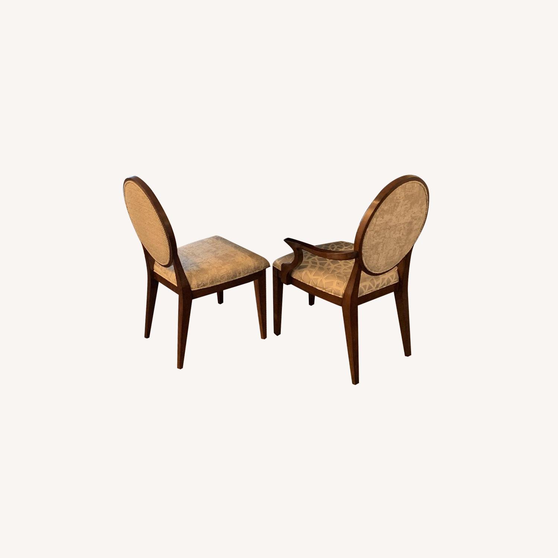 Bernhardt Design East Hampton Oval Back Dining Chairs - image-0