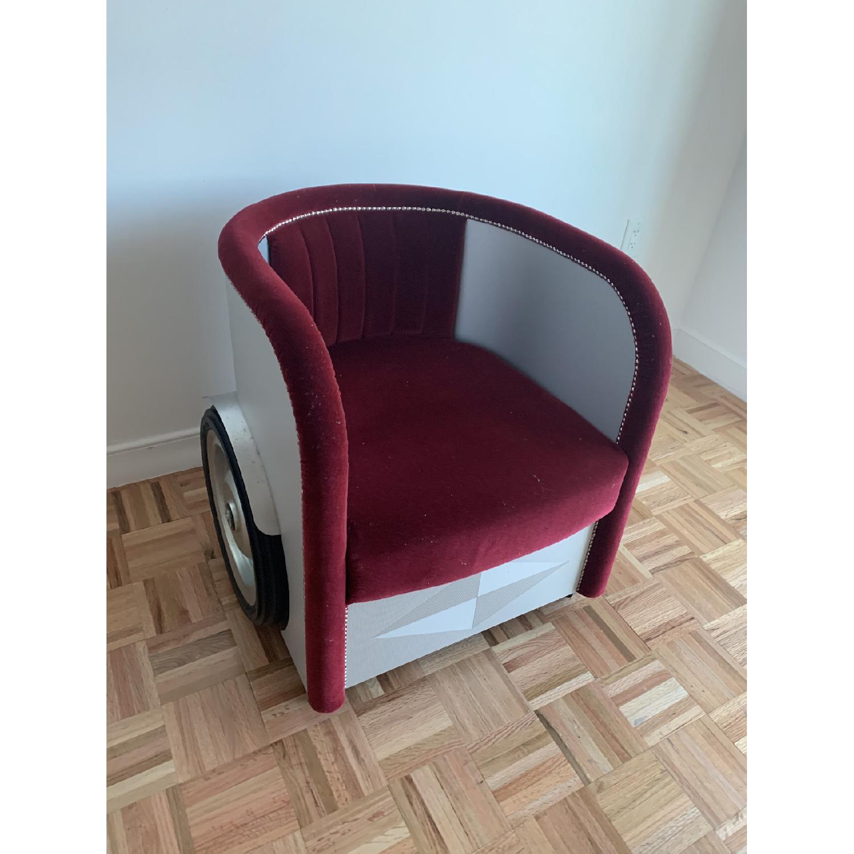 Roche Bobois Ben Hur Chair - image-2