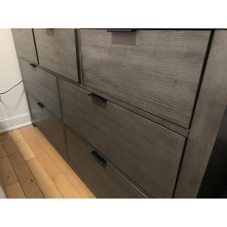 Macys Tribeca Grey Dresser - image-1