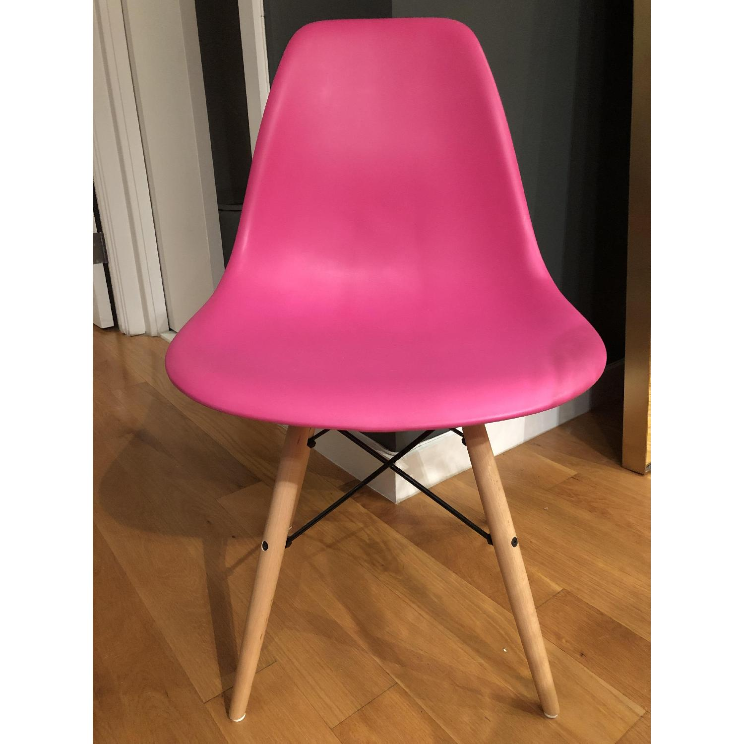 Molded Plastic Dining Side Chair - image-1