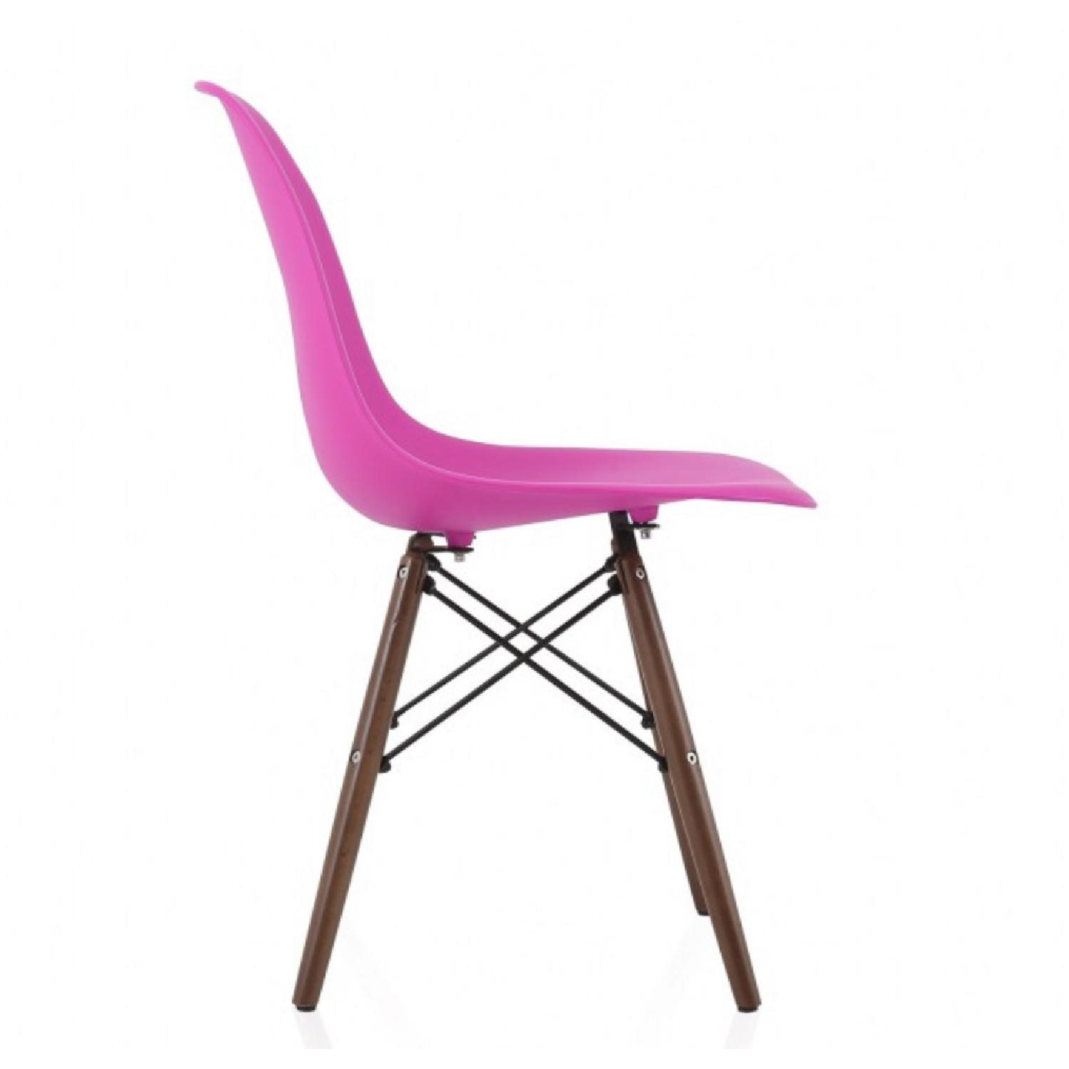 Molded Plastic Dining Side Chair - image-2
