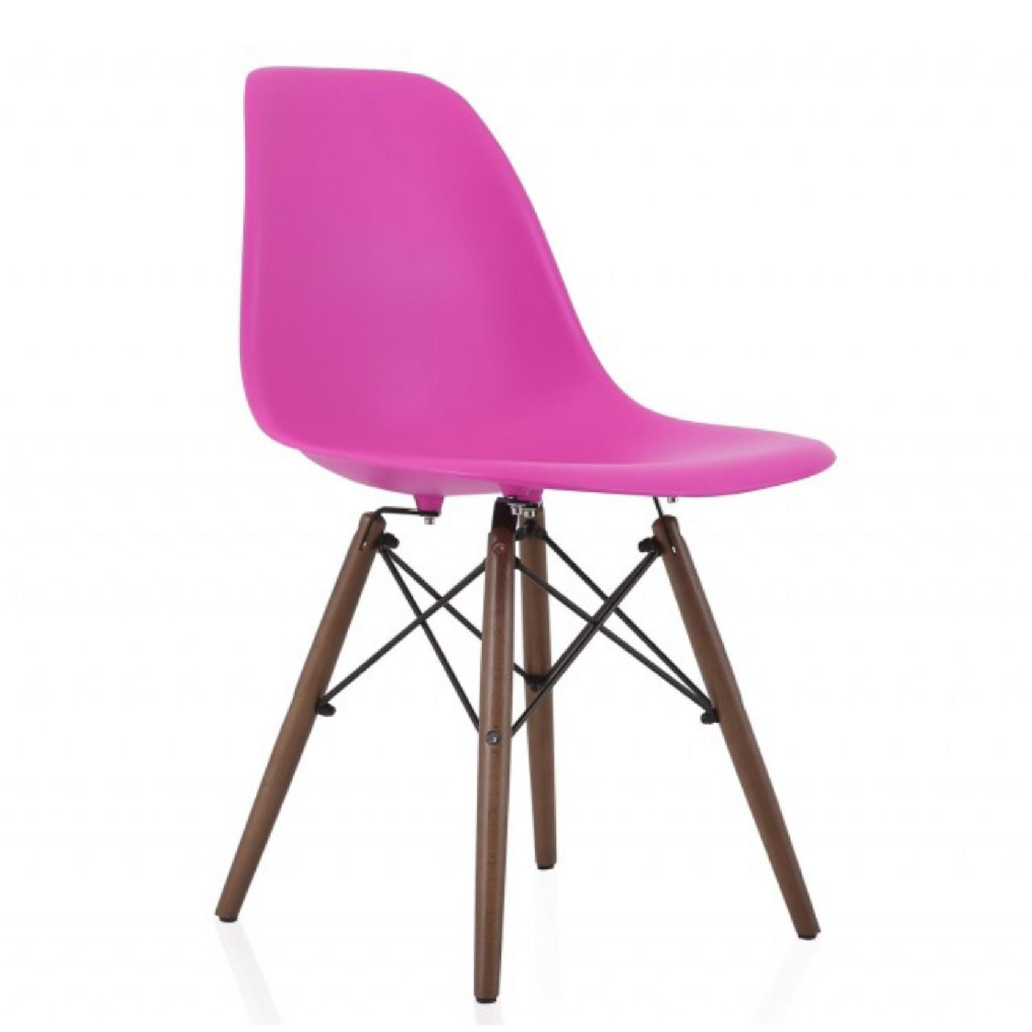 Molded Plastic Dining Side Chair - image-0