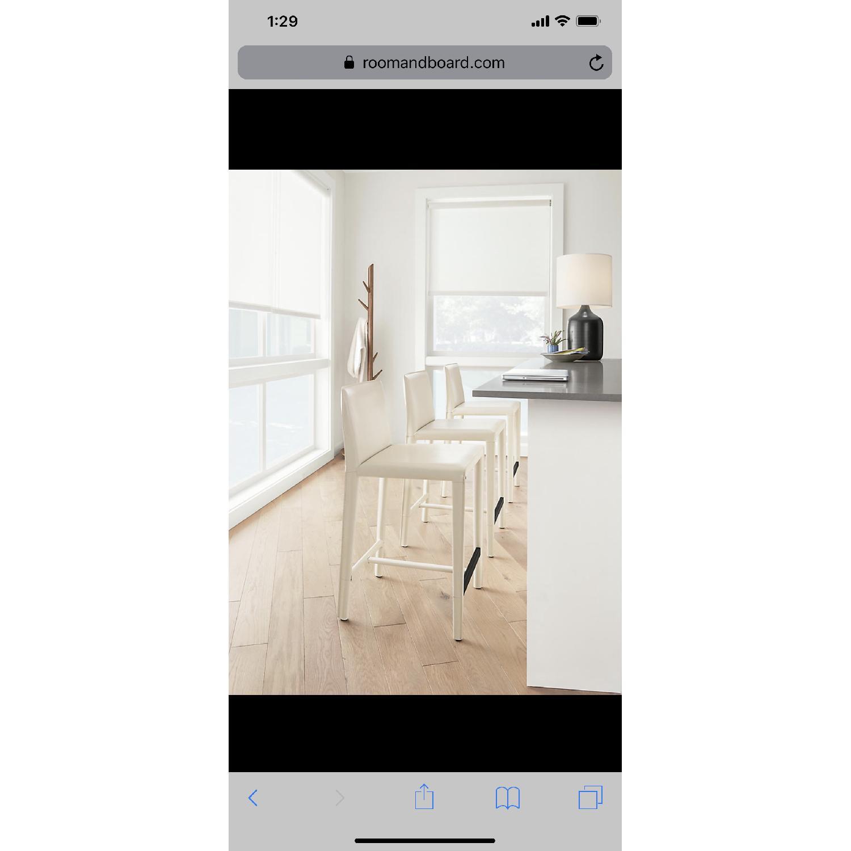 Room & Board Sava Green Counter Stools - image-1