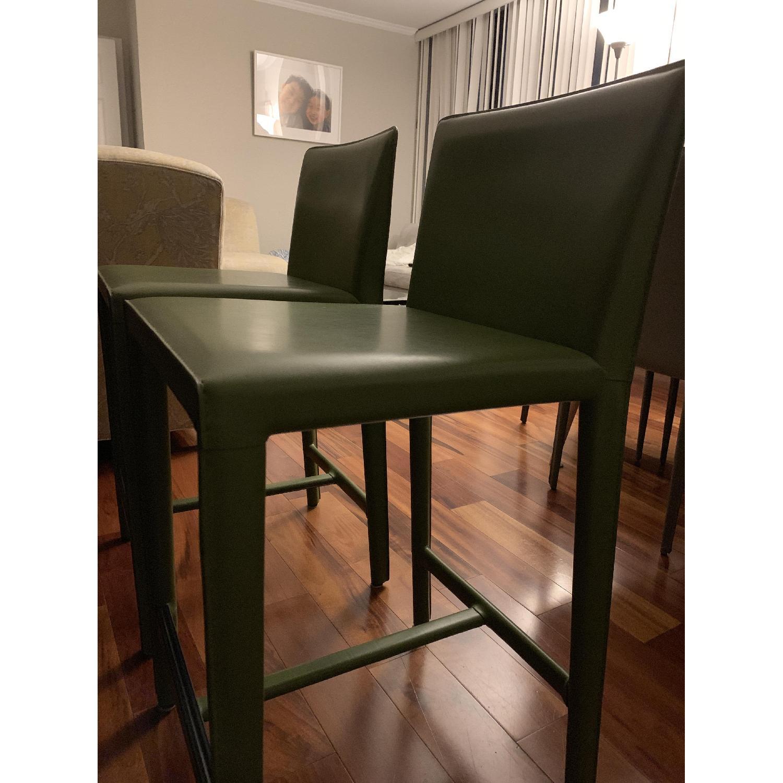 Room & Board Sava Green Counter Stools - image-2