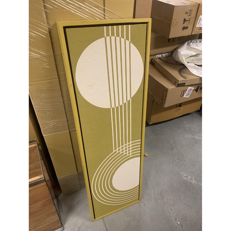 West Elm Radiant Shapes Wall Art - image-1