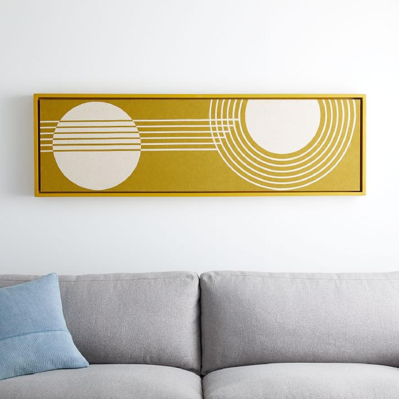 West Elm Radiant Shapes Wall Art - image-0