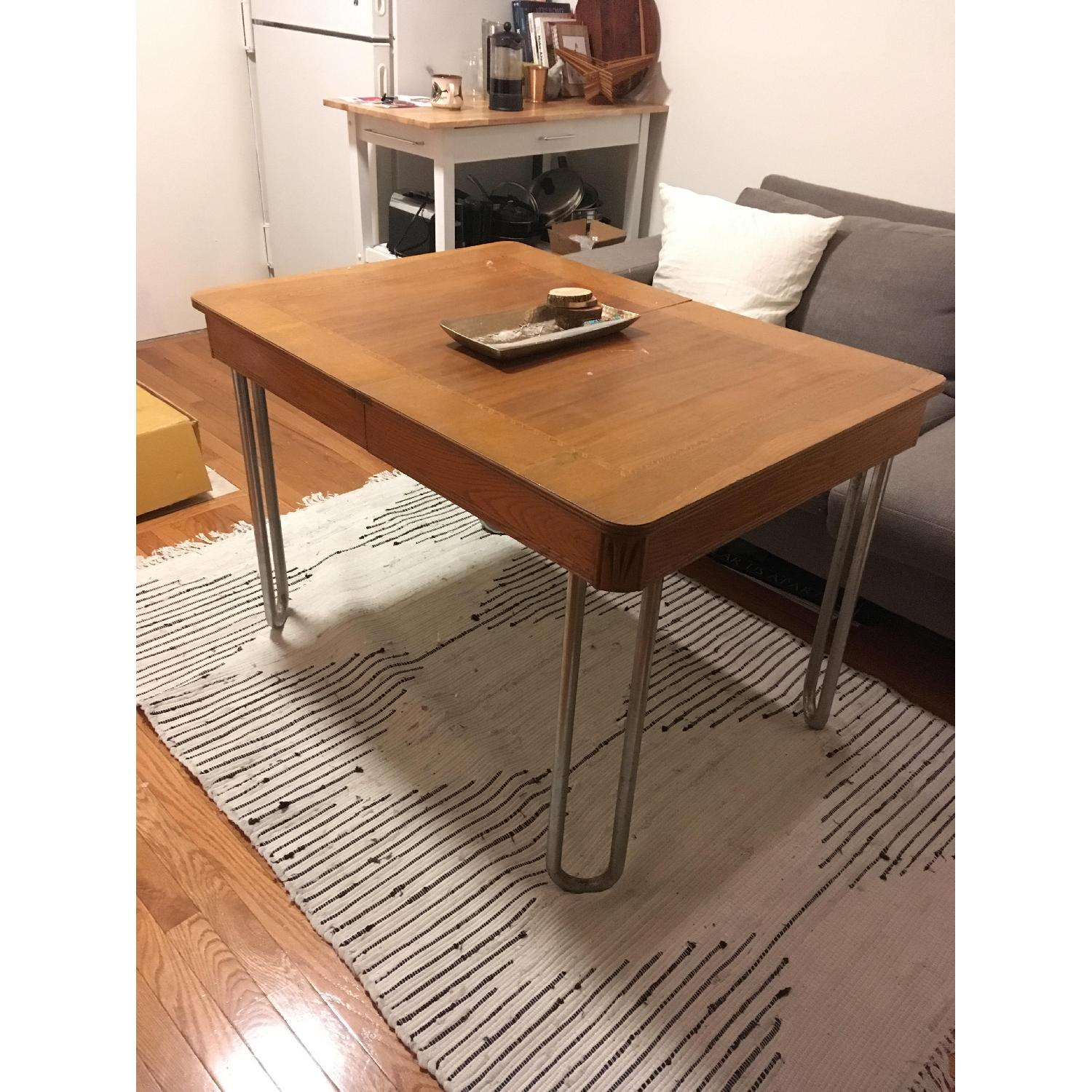 Vintage Kitchen/Dining Table - image-1