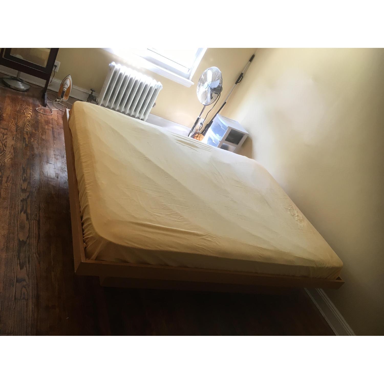 Gothic Cabinet Craft Platform Wood Bed Frame - image-6