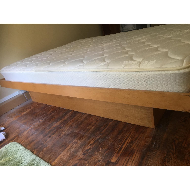 Gothic Cabinet Craft Platform Wood Bed Frame - image-9
