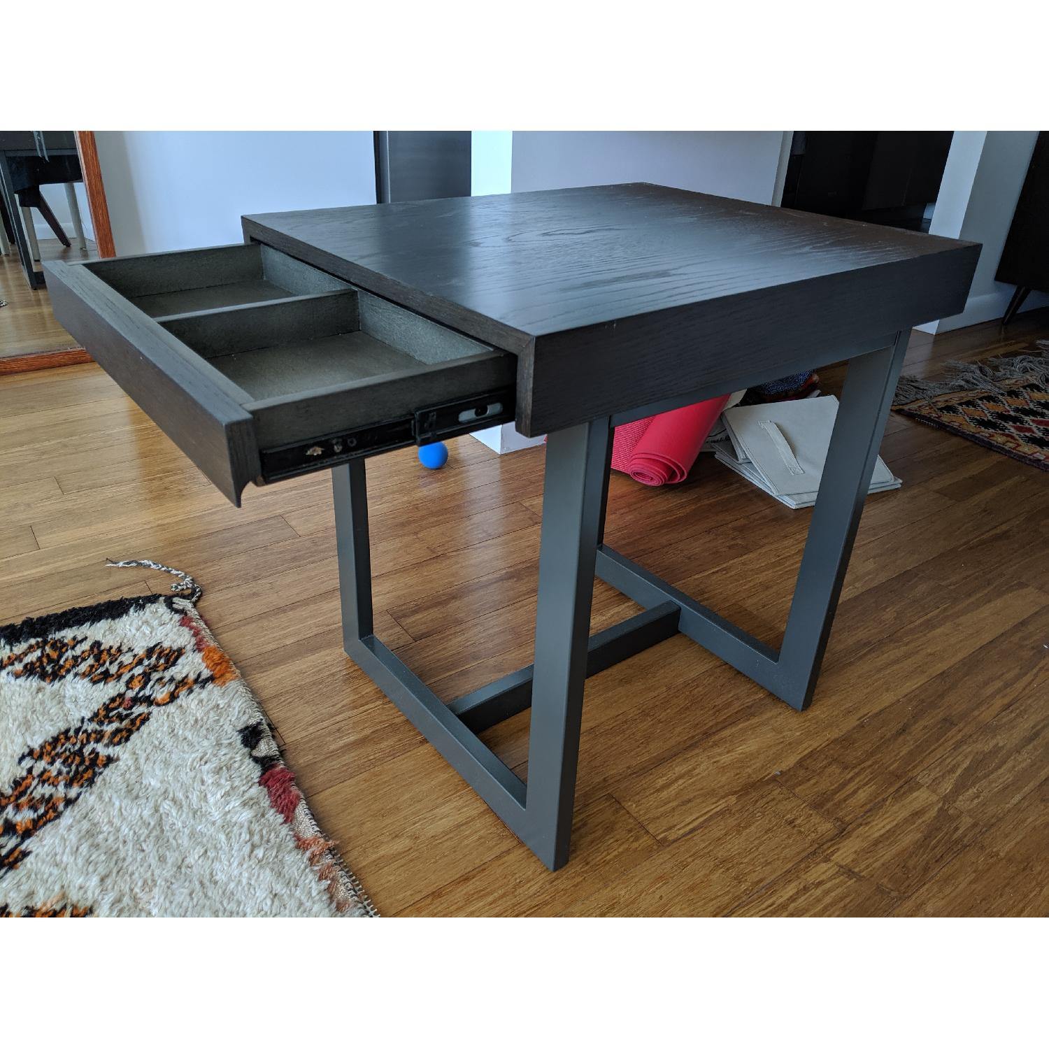 Crate & Barrel Archive End Table - image-1