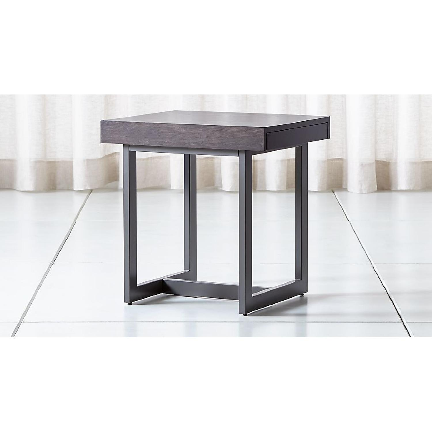Crate & Barrel Archive End Table - image-4