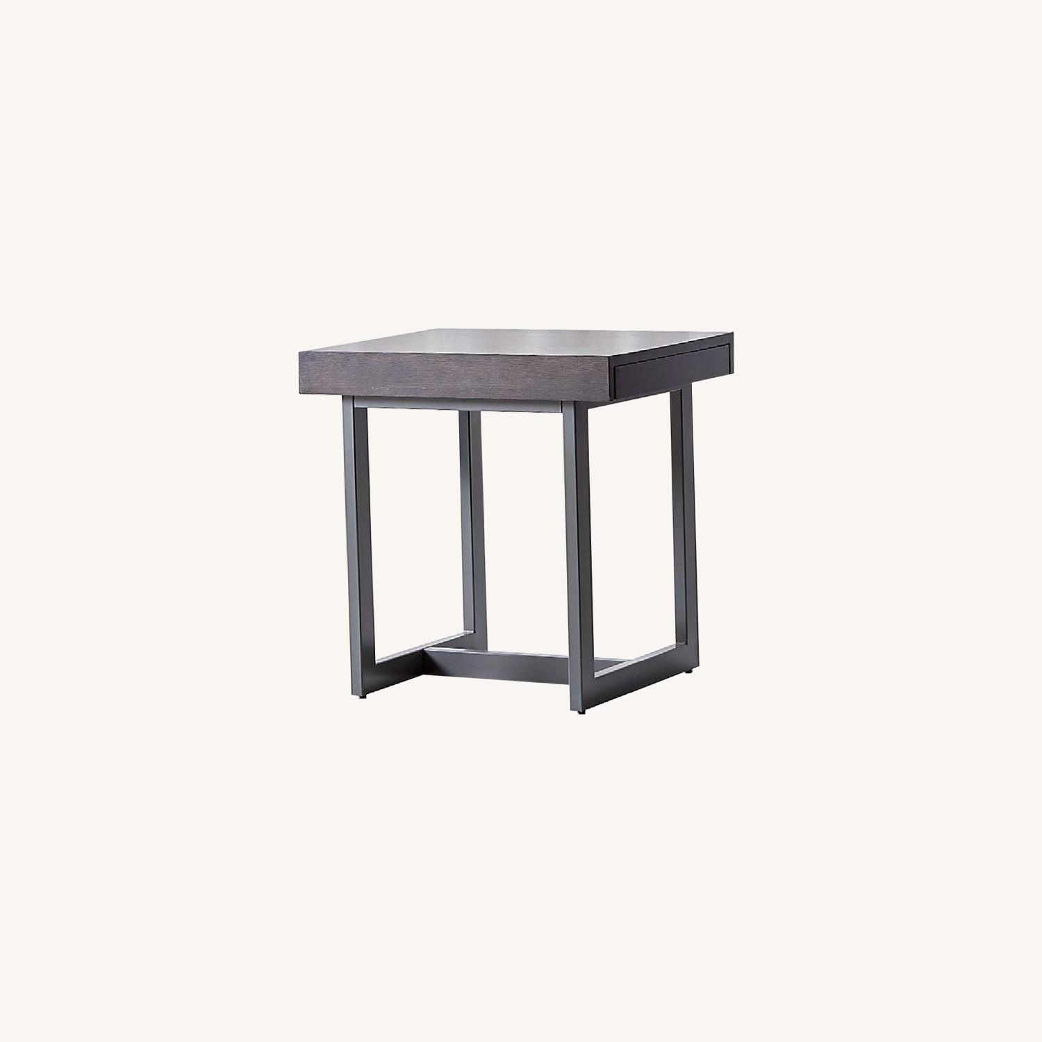 Crate & Barrel Archive End Table - image-0