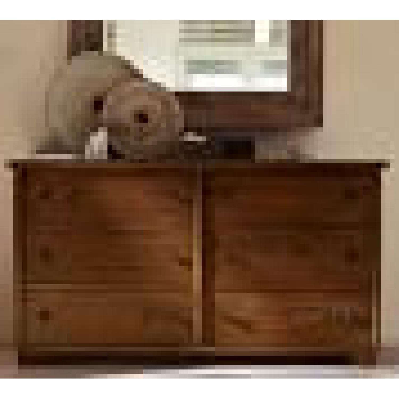 Pottery Barn Mahagony Dresser - image-2