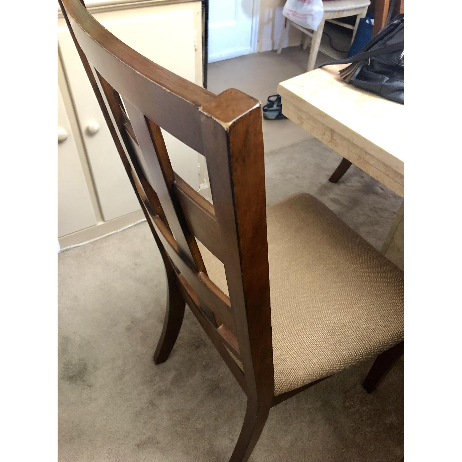 Ashley Wood Dining Chairs - image-2