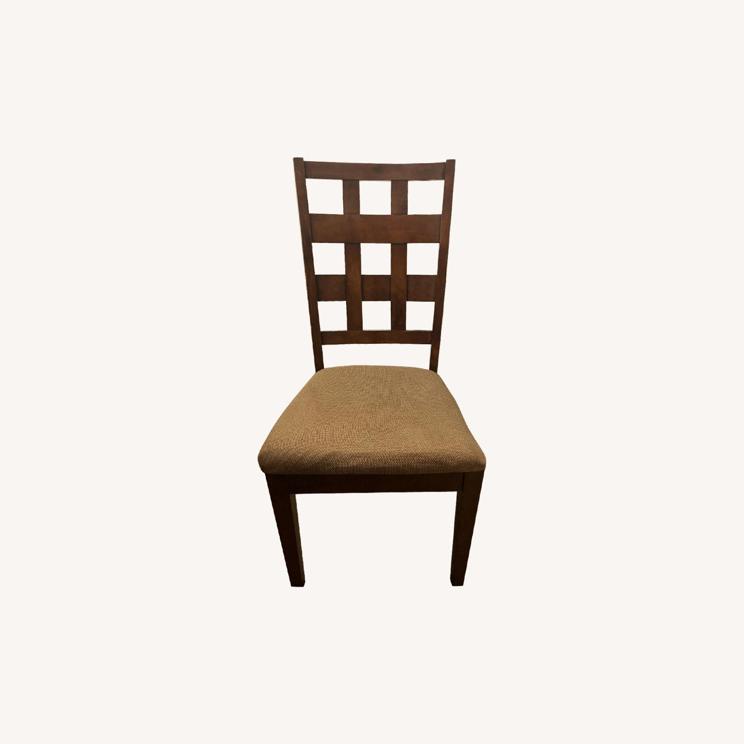 Ashley Wood Dining Chairs - image-0