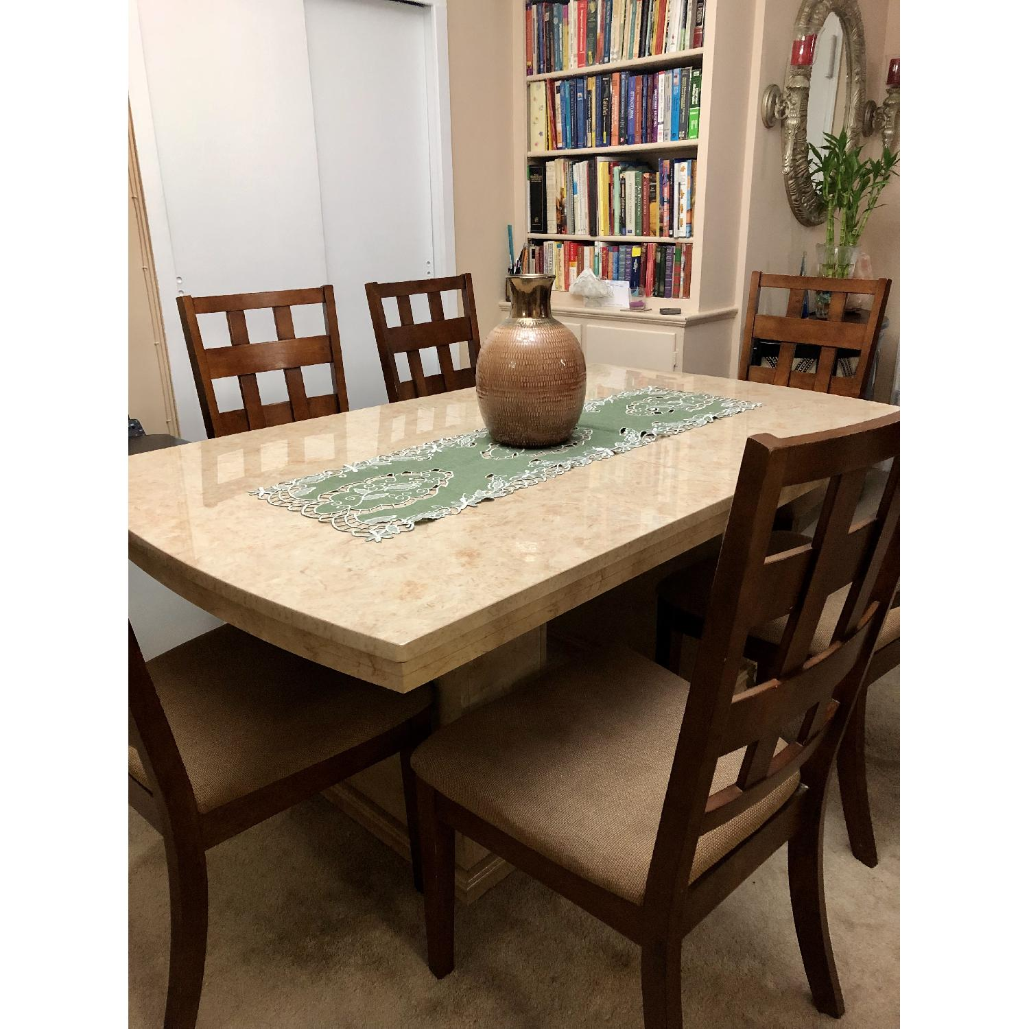 Seaman's Furniture Natural Italian Lacquer Dining Table - image-3