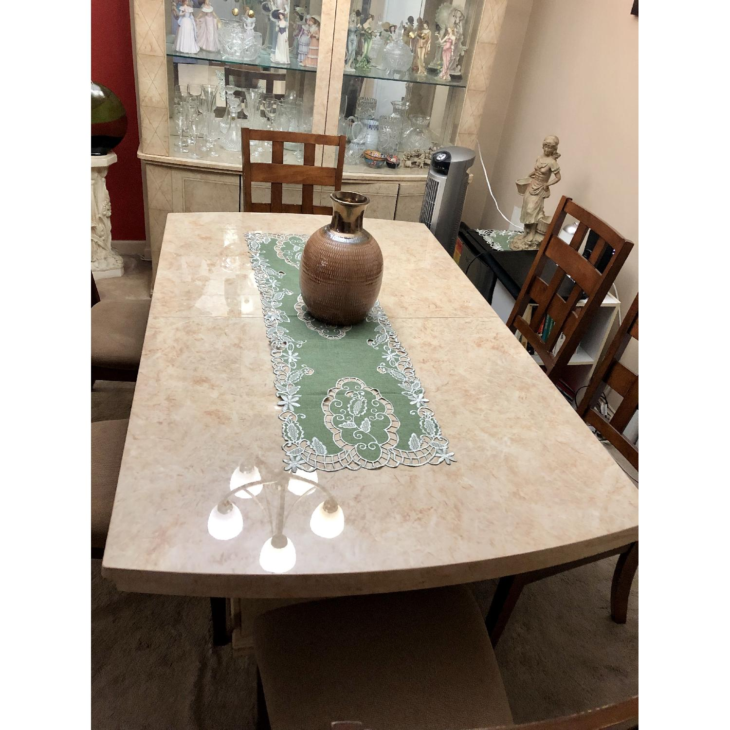Seaman's Furniture Natural Italian Lacquer Dining Table - image-4