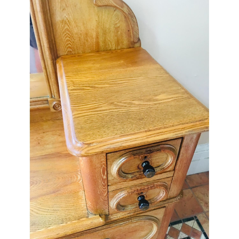19th Century Antique Dresser w/ Mirror - image-2