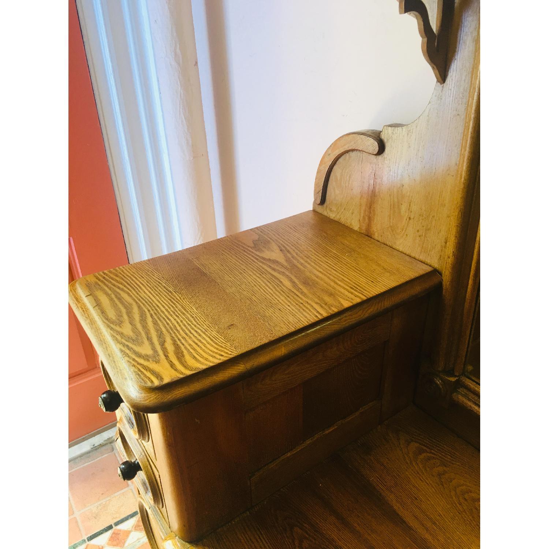 19th Century Antique Dresser w/ Mirror - image-4