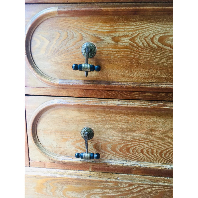 19th Century Antique Dresser w/ Mirror - image-5