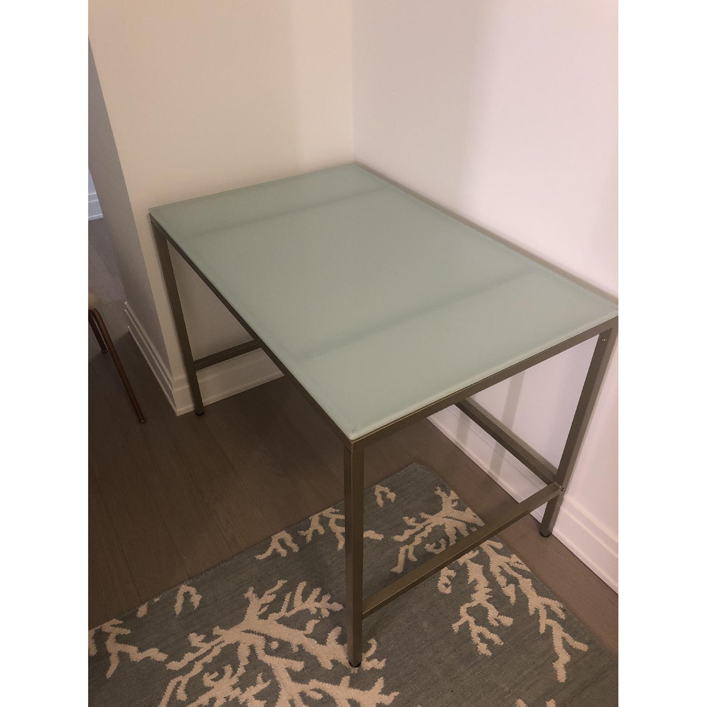 Glass & Metal Desk - image-2