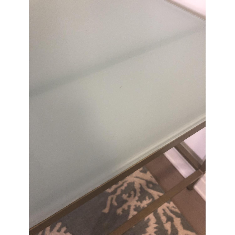 Glass & Metal Desk - image-3