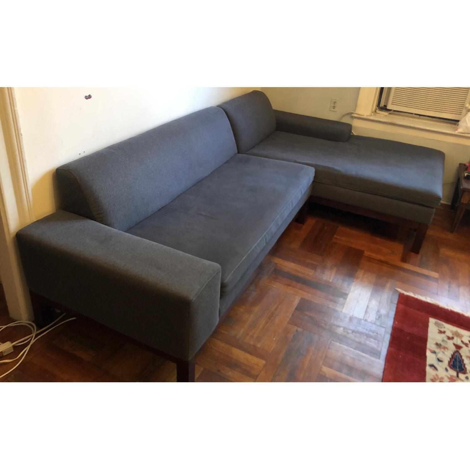 West Elm Sectional Sofa w/ Chaise - image-1
