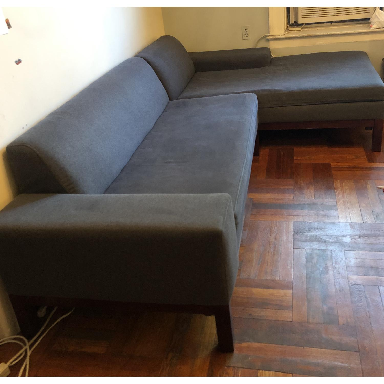 West Elm Sectional Sofa w/ Chaise - image-3