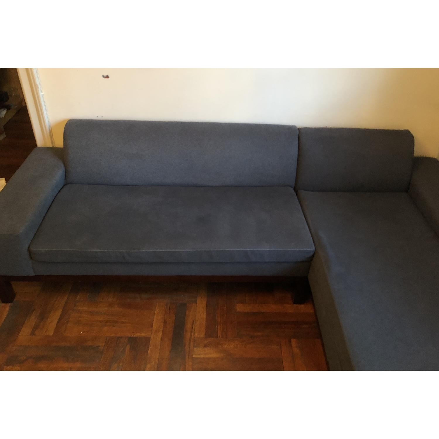 West Elm Sectional Sofa w/ Chaise - image-4
