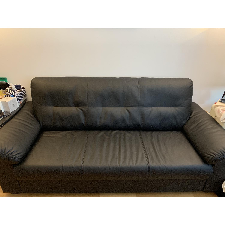 Ikea Knislinge Black Sofa - image-1