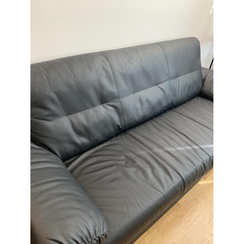 Ikea Knislinge Black Sofa - image-2