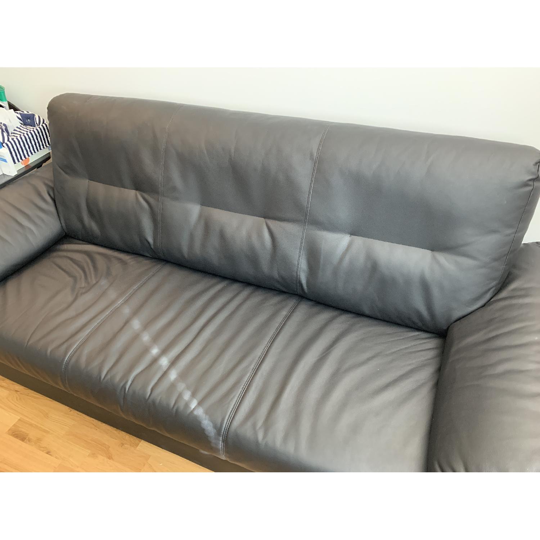 Ikea Knislinge Black Sofa - image-3