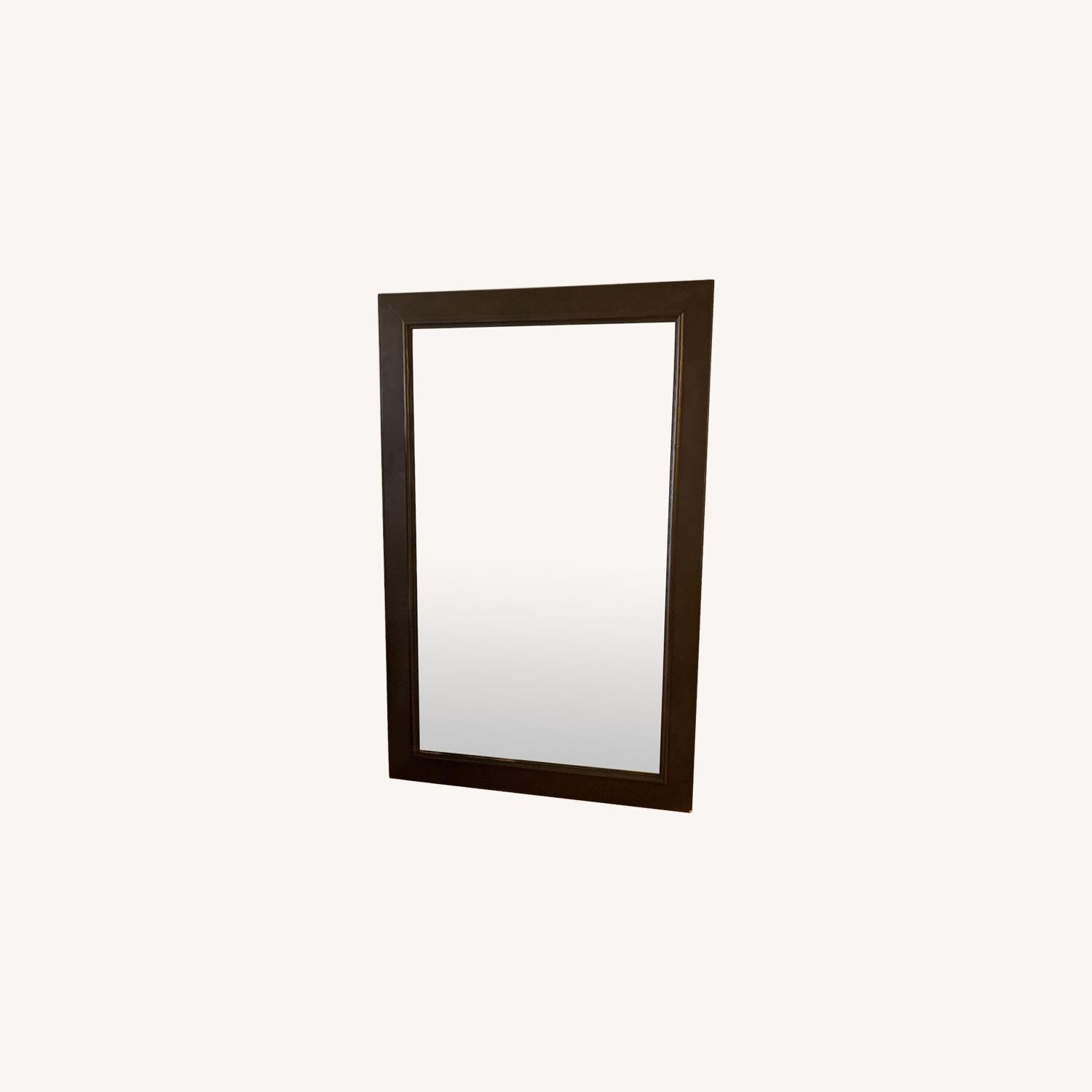 Wood Framed Mirror - image-0